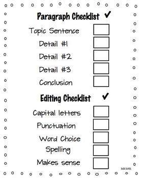 5 paragraph essay format example